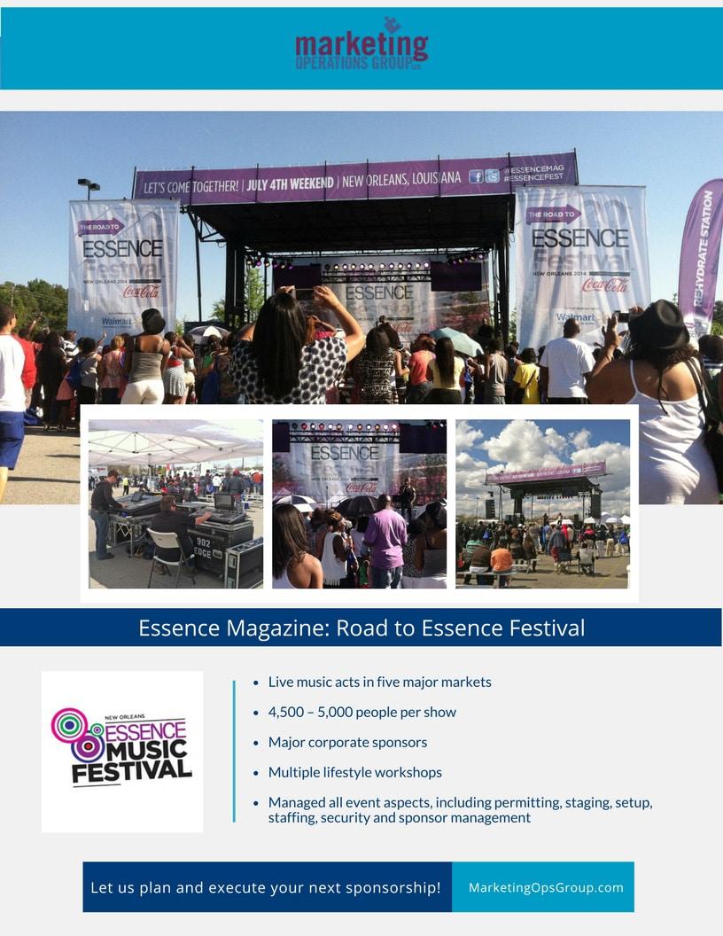 Essence Music Festival Sponsorship Case Study