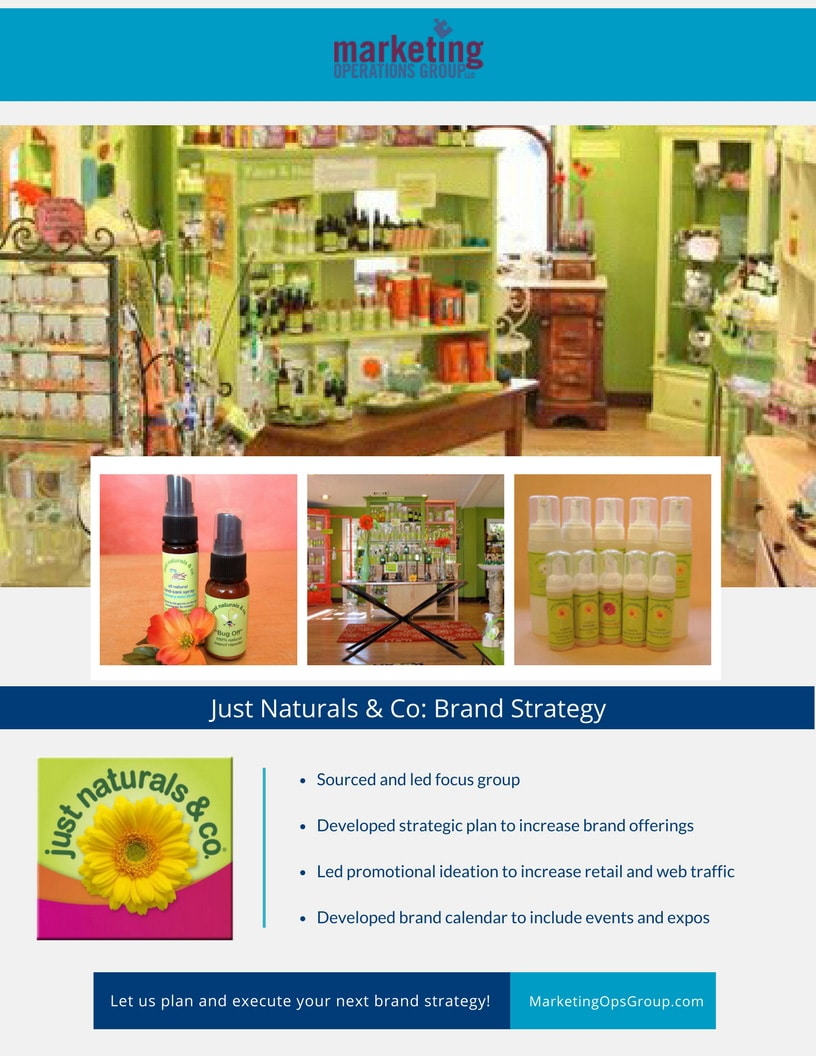 Just Naturals Brand Strategy Case Study.