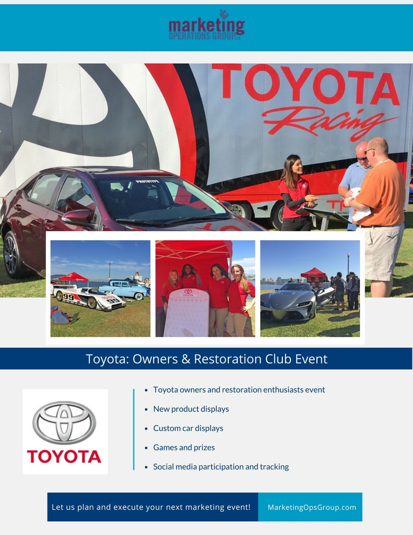 Toyota- Owners & Restoration Club Case Study