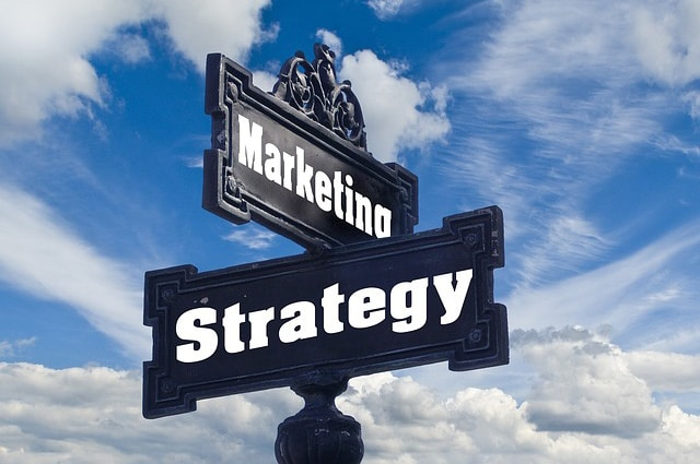 marketing strategy street sign, cmo consulting