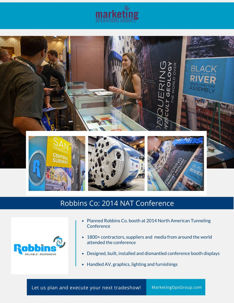 Robbins Co Trade Show case study
