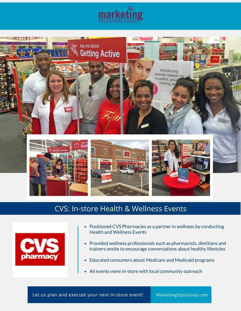 CVS- In-store Health & Wellness Event Case Study