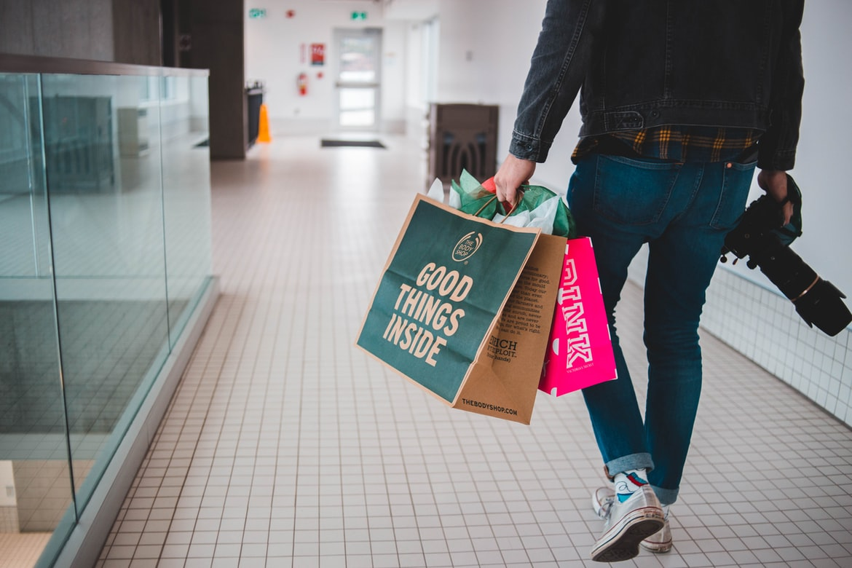 Man Iwht Bag that Says good Stuff Inside | MOGXP